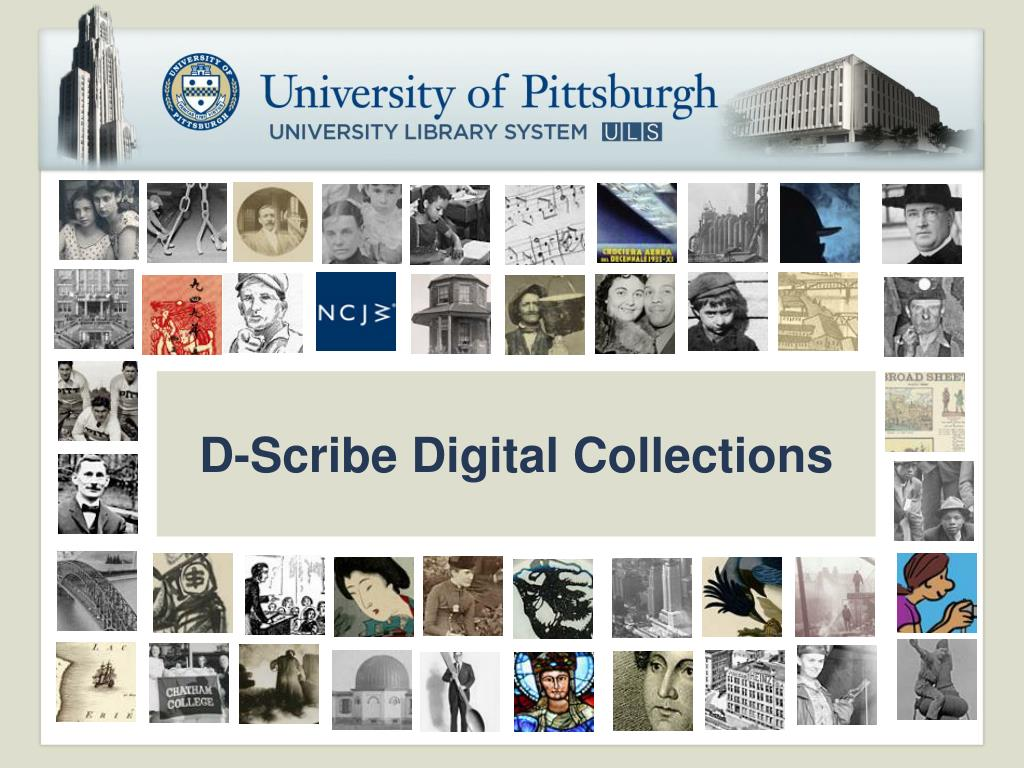 D-Scribe Digital Collections