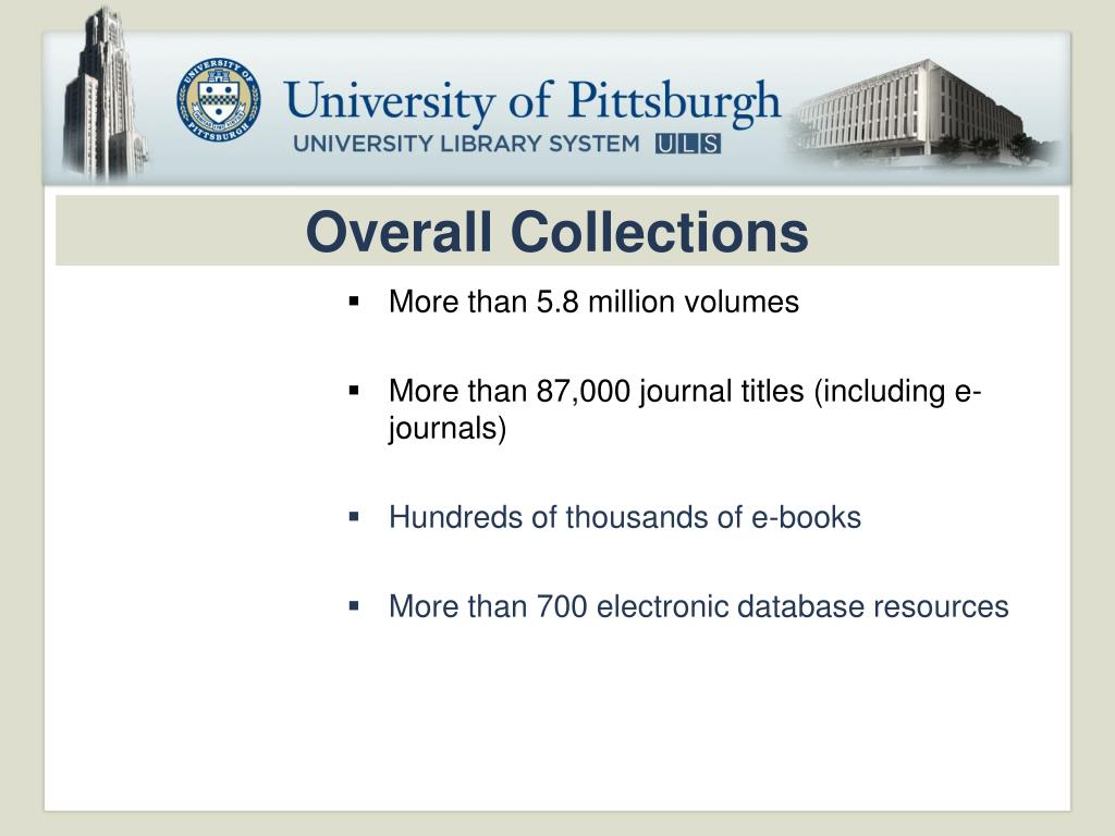 Overall Collections