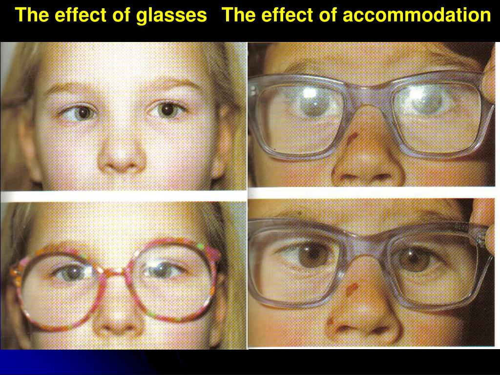 The effect of glasses