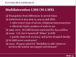 multilateration lms m lms