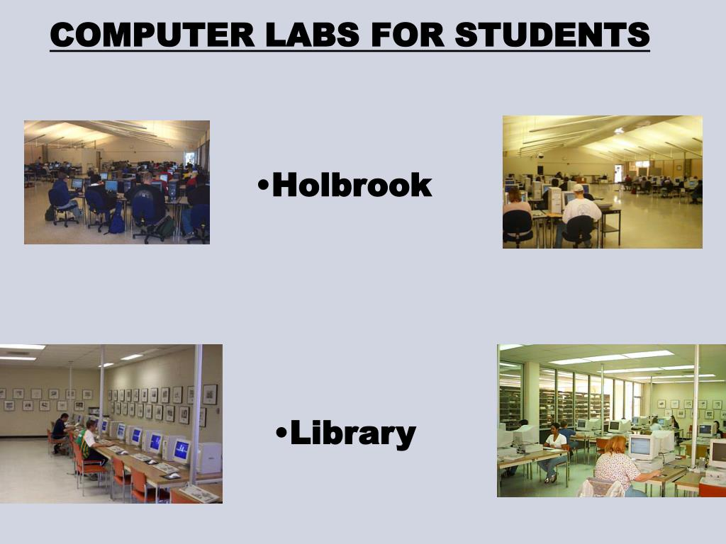 COMPUTER LABS FOR STUDENTS
