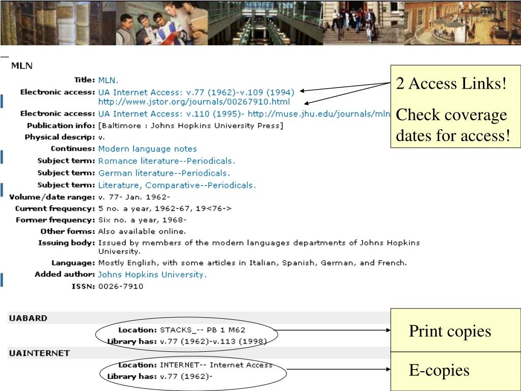 2 Access Links!