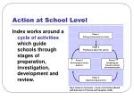 action at school level23