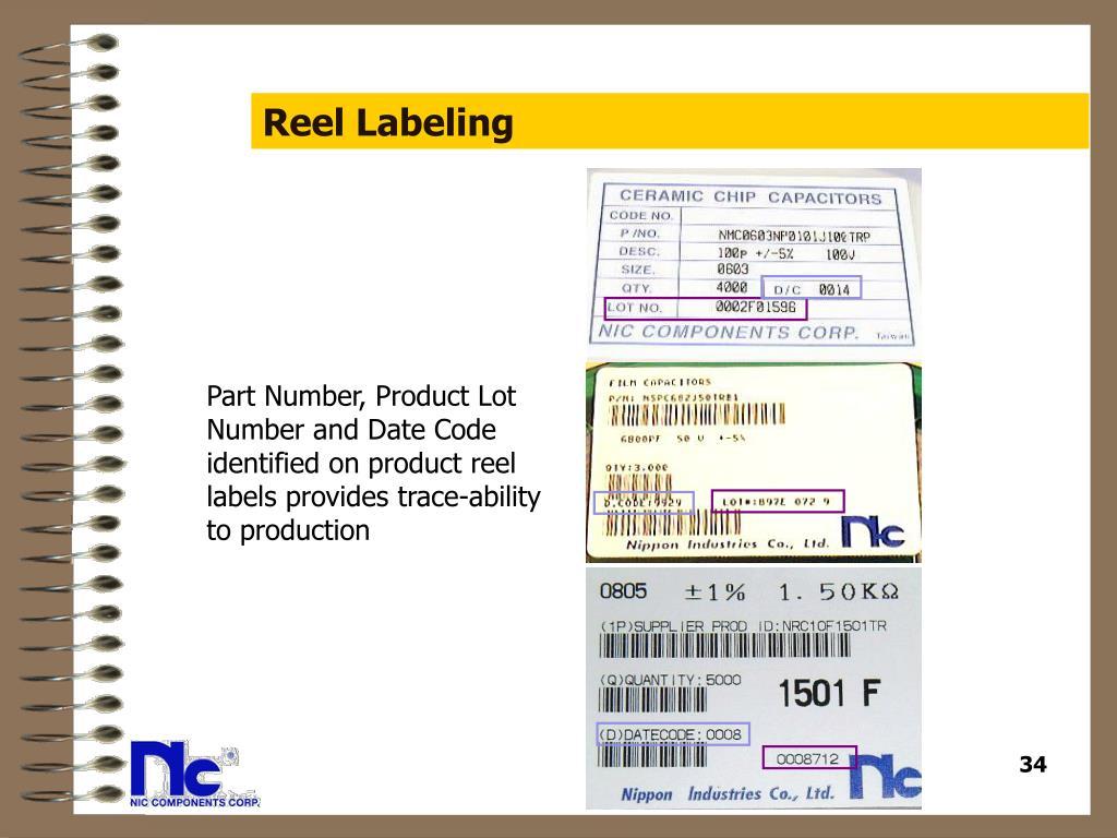 Reel Labeling