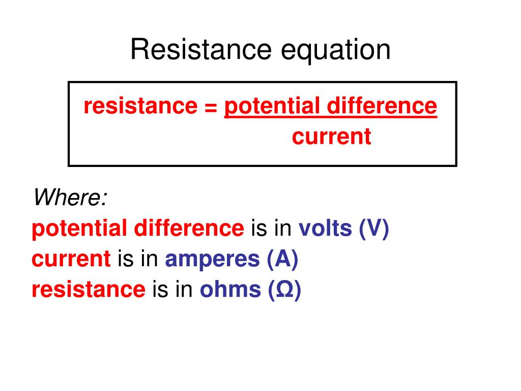 resistance relationship for a conductor essay Start studying resistance/ conductance/ ohm's law learn vocabulary, terms to flow if one volt of electrical pressured is placed on a conductor the symbol for where the only opposition to the flow of electrons is resistance , there is a relationship between the.