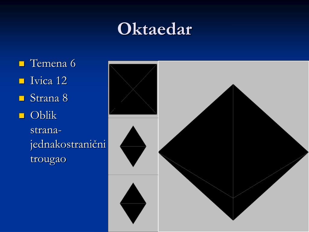 Oktaedar