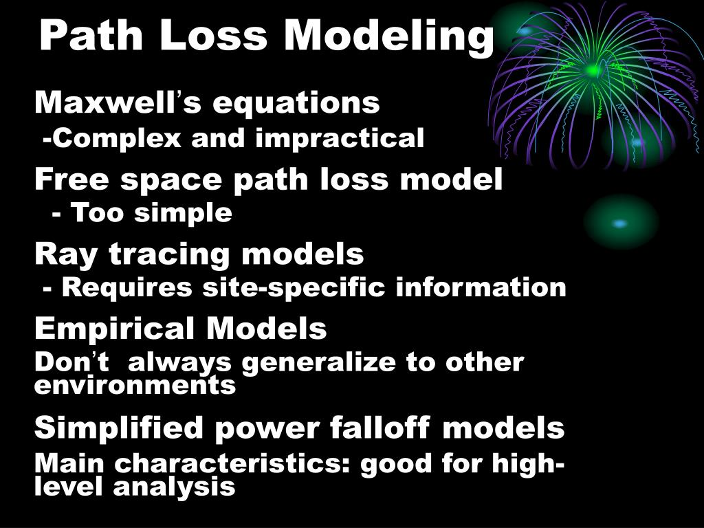Path Loss Modeling