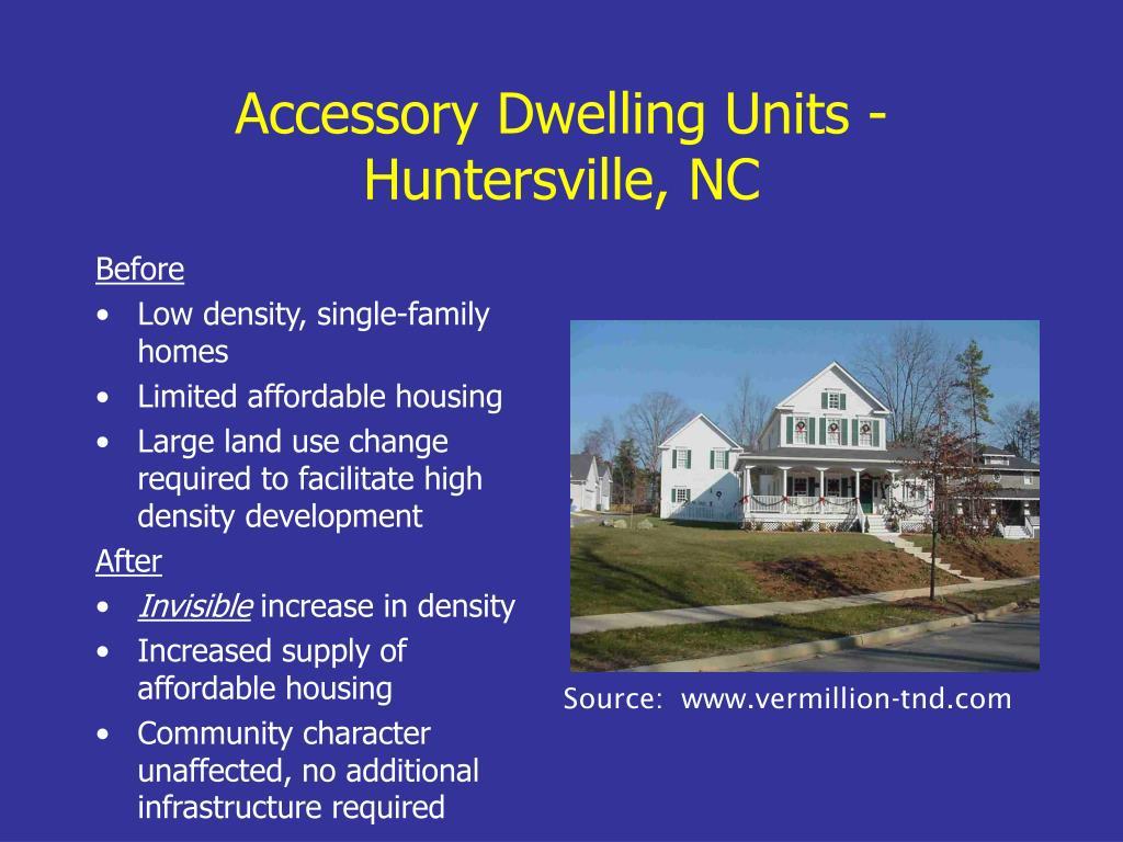 Accessory Dwelling Units -