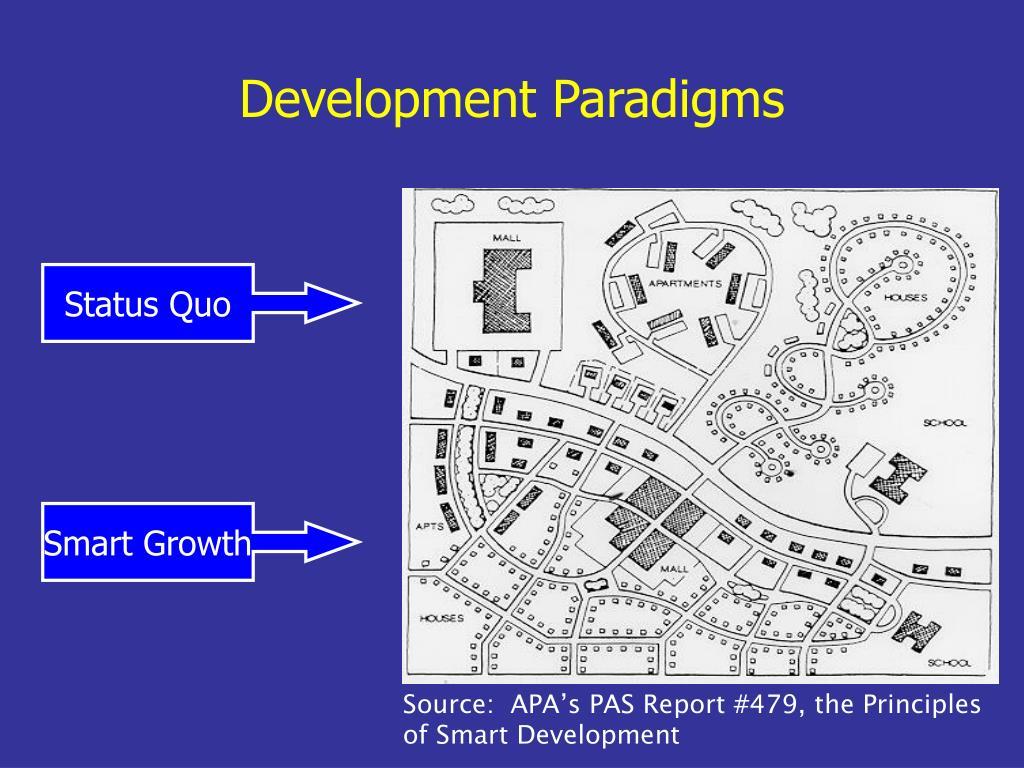 Development Paradigms