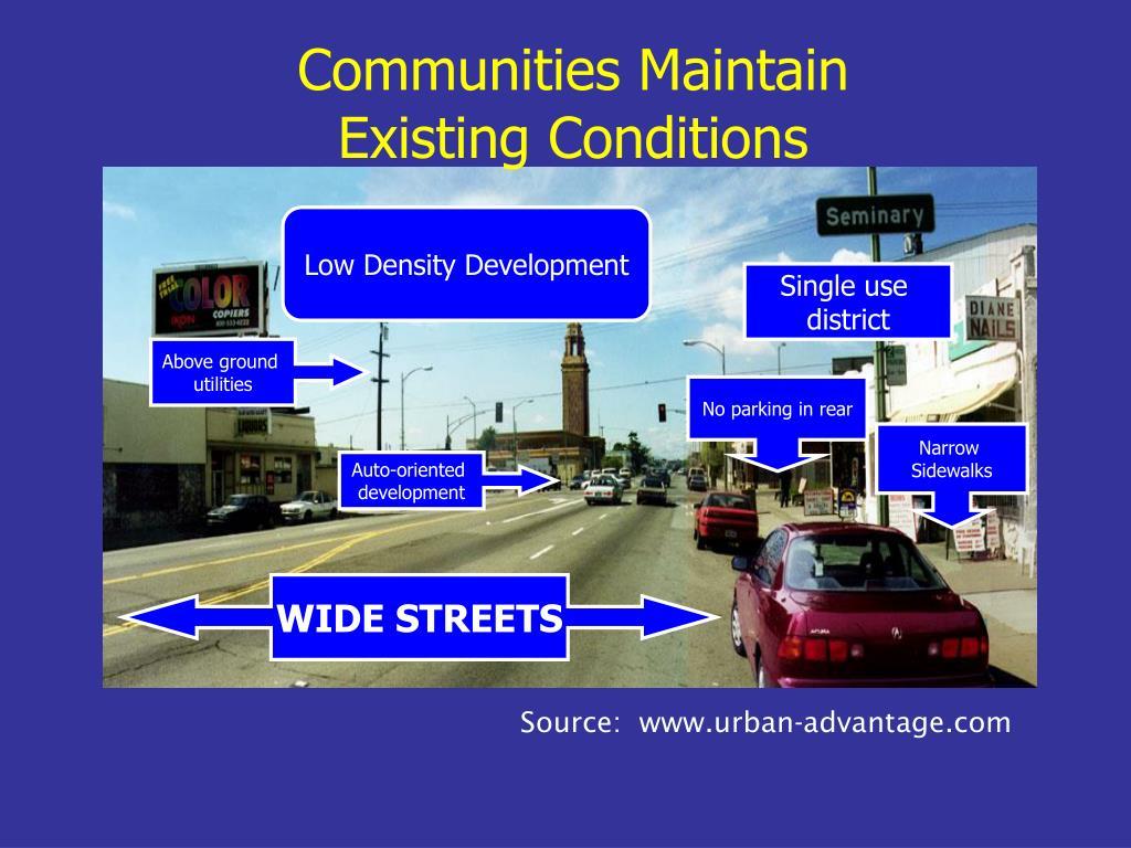 Communities Maintain