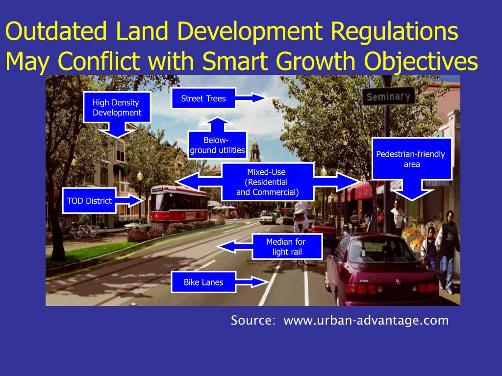 Outdated Land Development Regulations May Conflict with Smart Growth Objectives