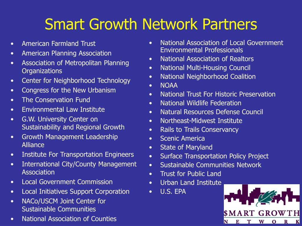 Smart Growth Network Partners