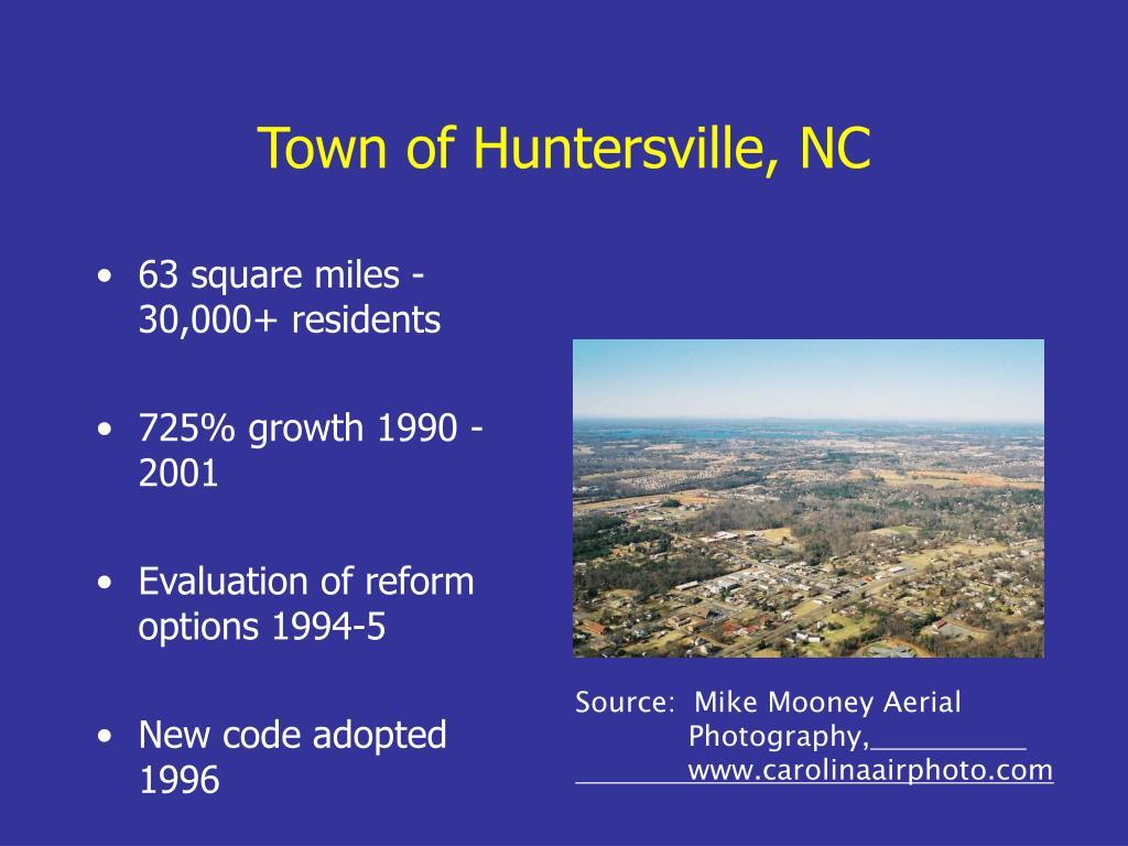 Town of Huntersville, NC