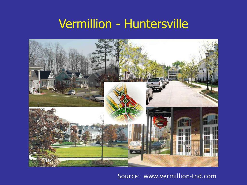 Vermillion - Huntersville