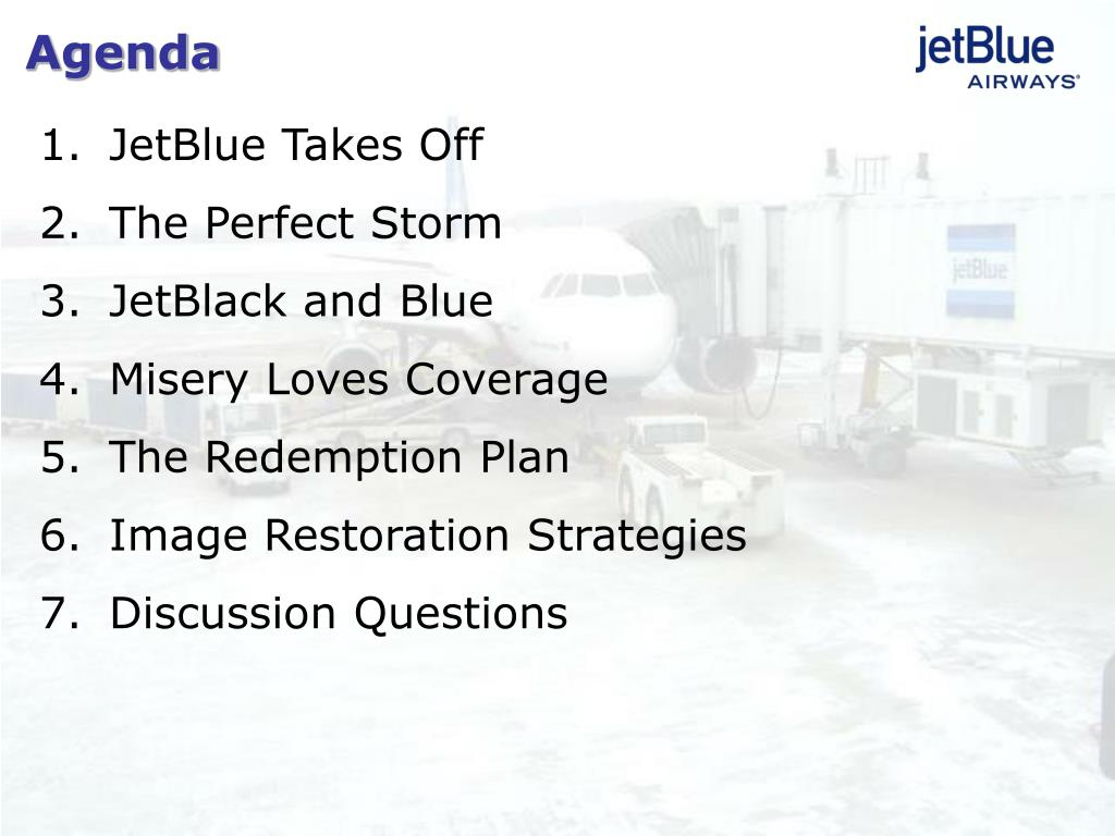 Significant Business Problems Jet Blue Faced   Papers Marketplace Docmia