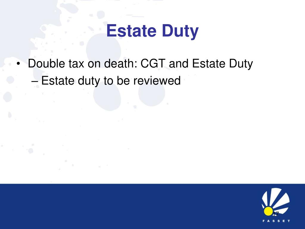 Estate Duty