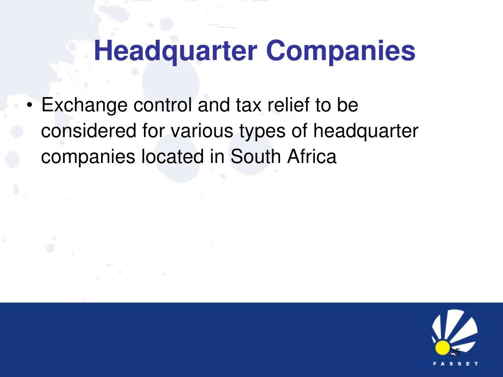 Headquarter Companies