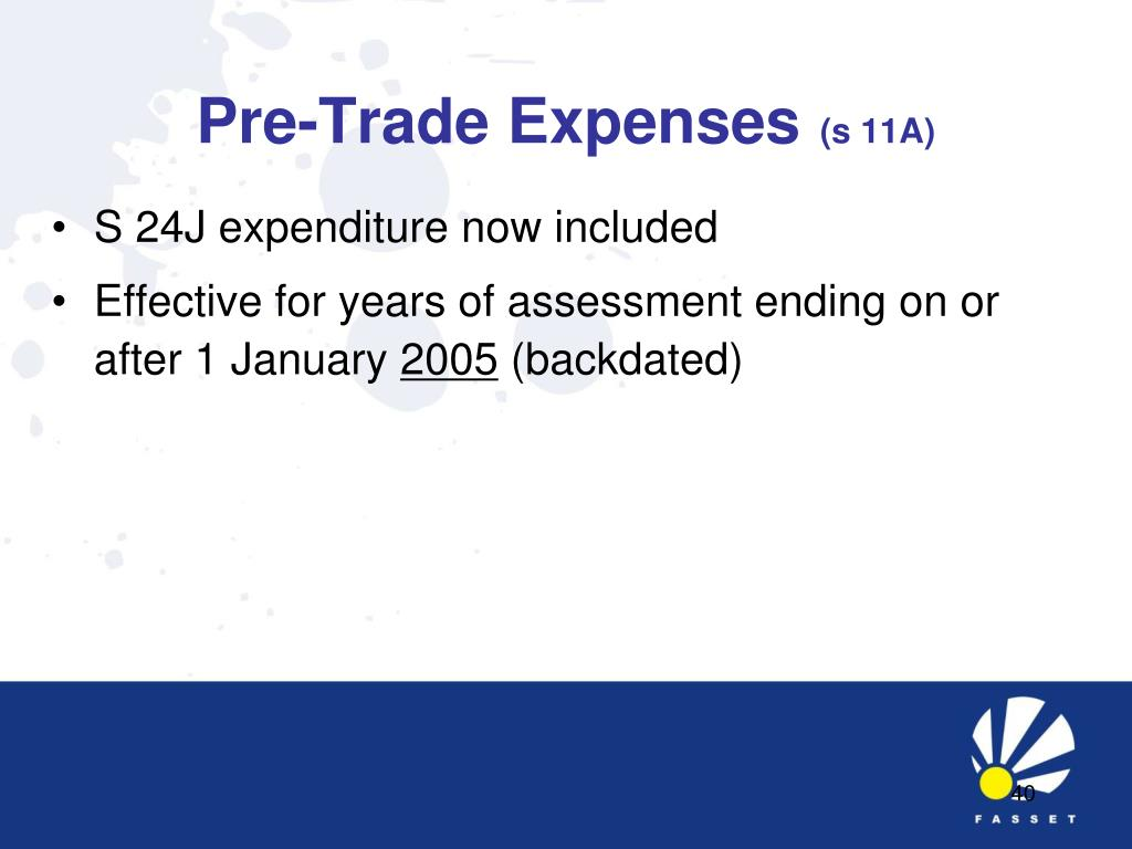 Pre-Trade Expenses