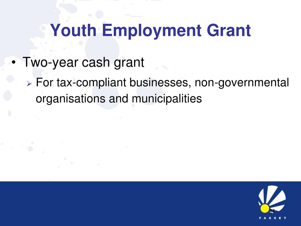 Youth Employment Grant