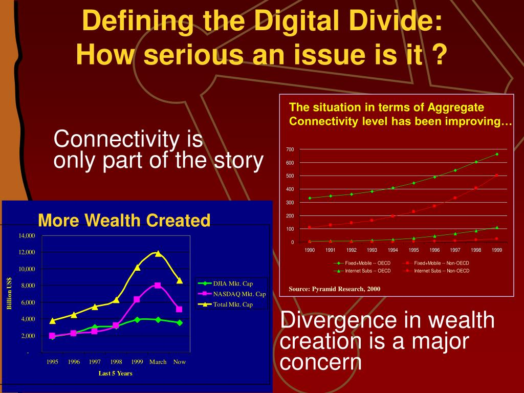 Defining the Digital Divide: