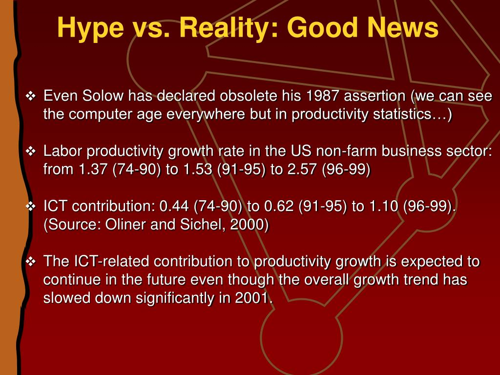 Hype vs. Reality: Good News