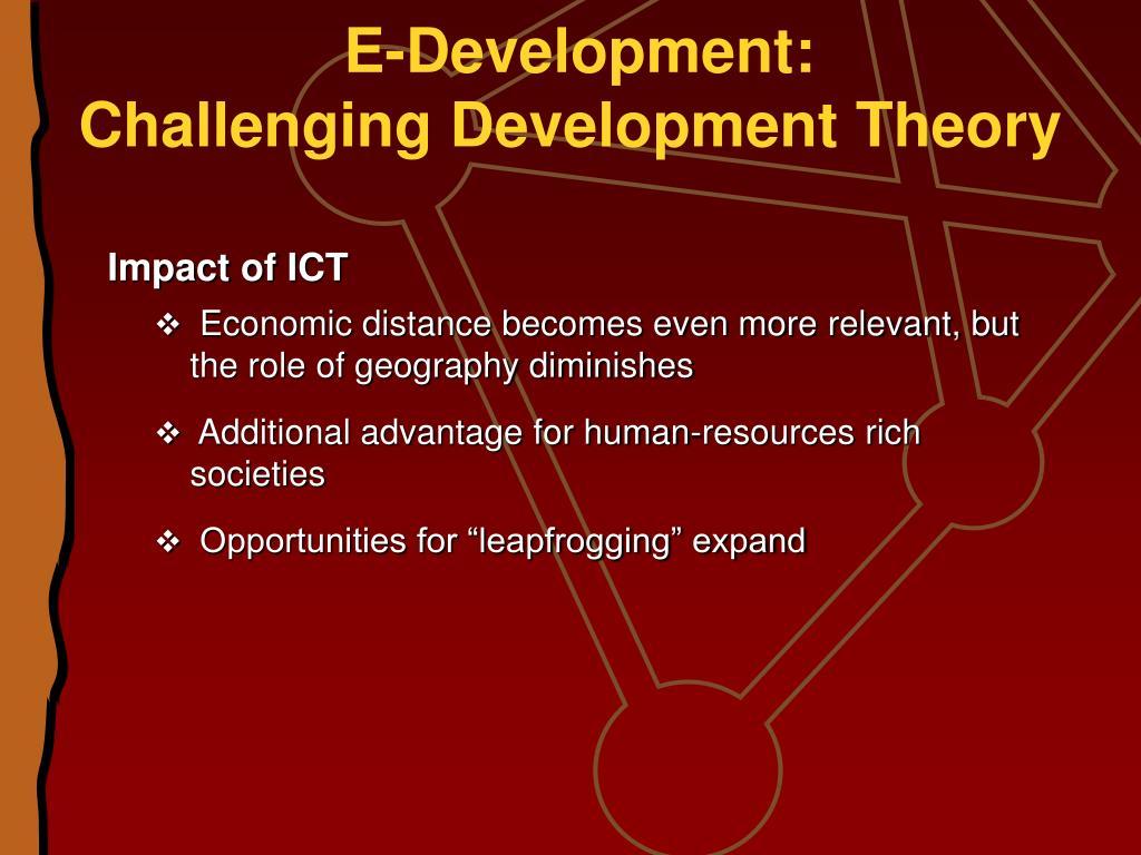 E-Development: