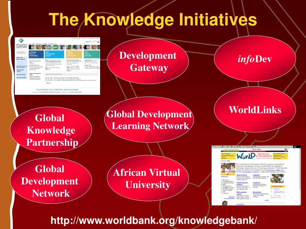 The Knowledge Initiatives
