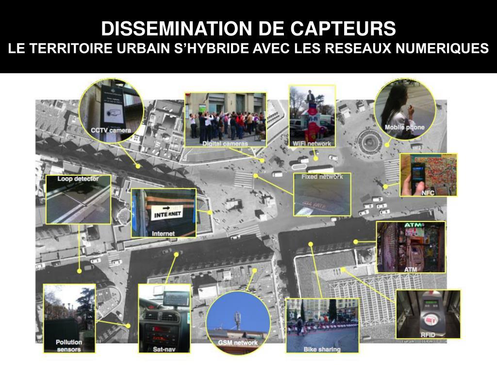 DISSEMINATION DE CAPTEURS