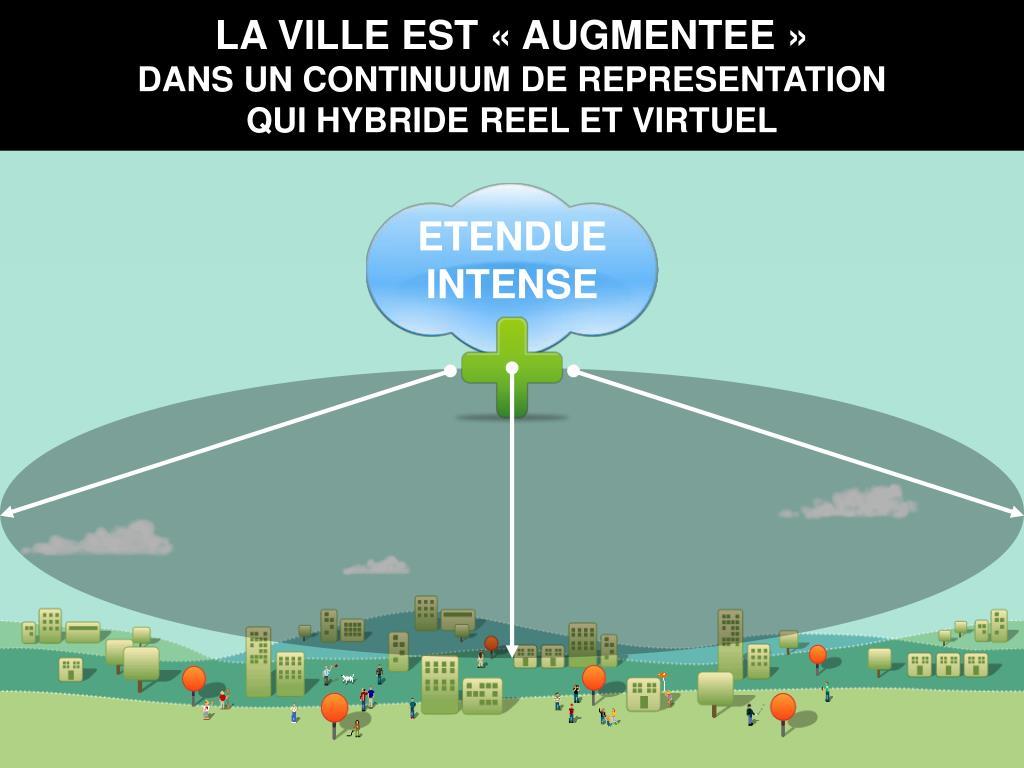 LA VILLE EST «AUGMENTEE»
