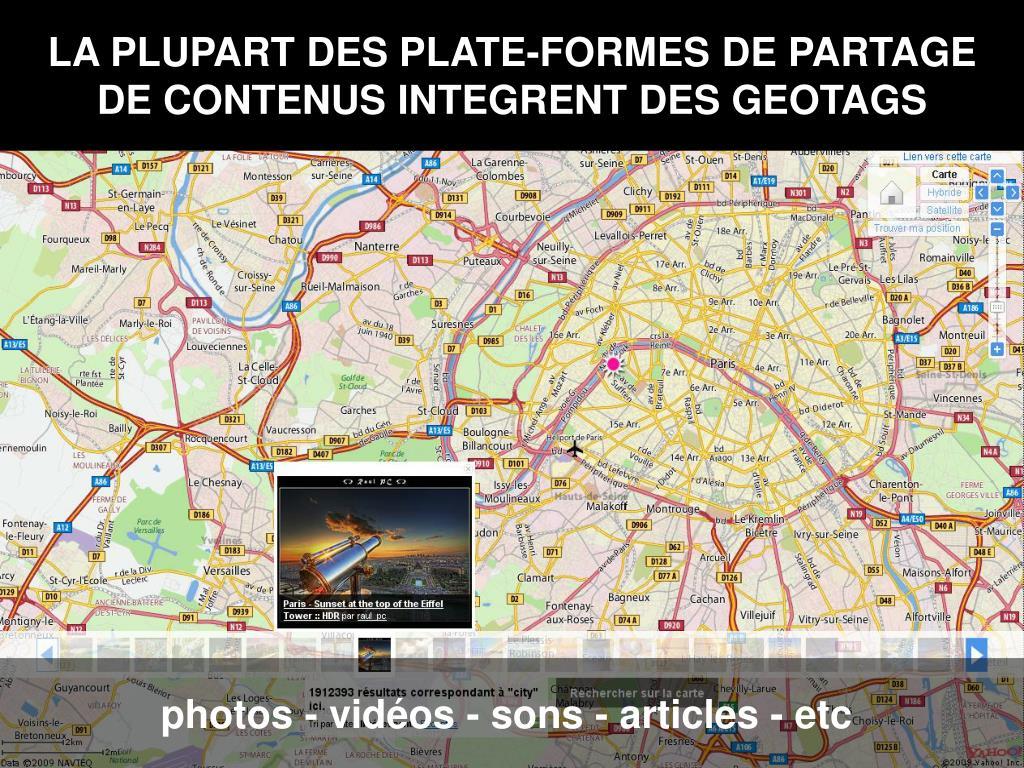 LA PLUPART DES PLATE-FORMES DE PARTAGE