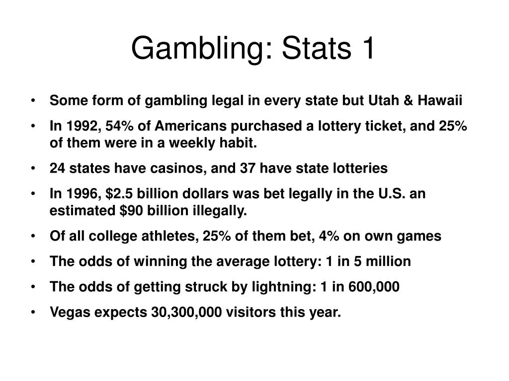 Gambling: Stats 1