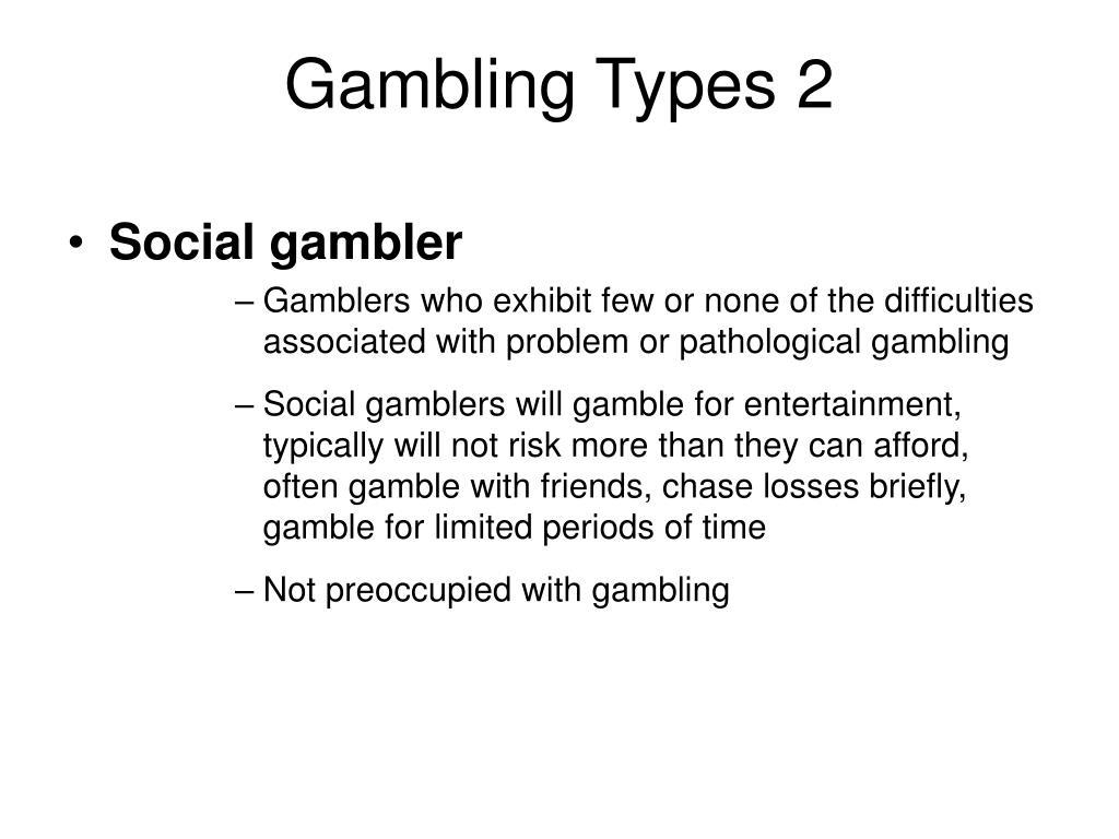 Gambling Types 2
