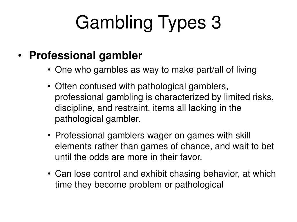 Gambling Types 3