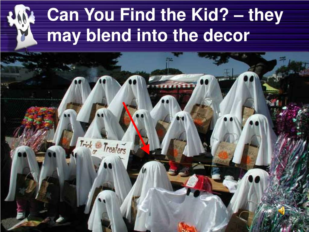 Can You Find the Kid? – they may blend into the decor