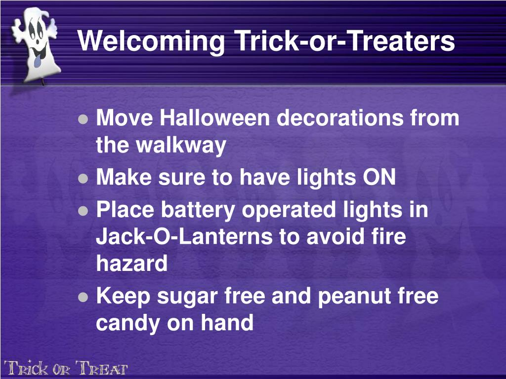 Welcoming Trick-or-Treaters