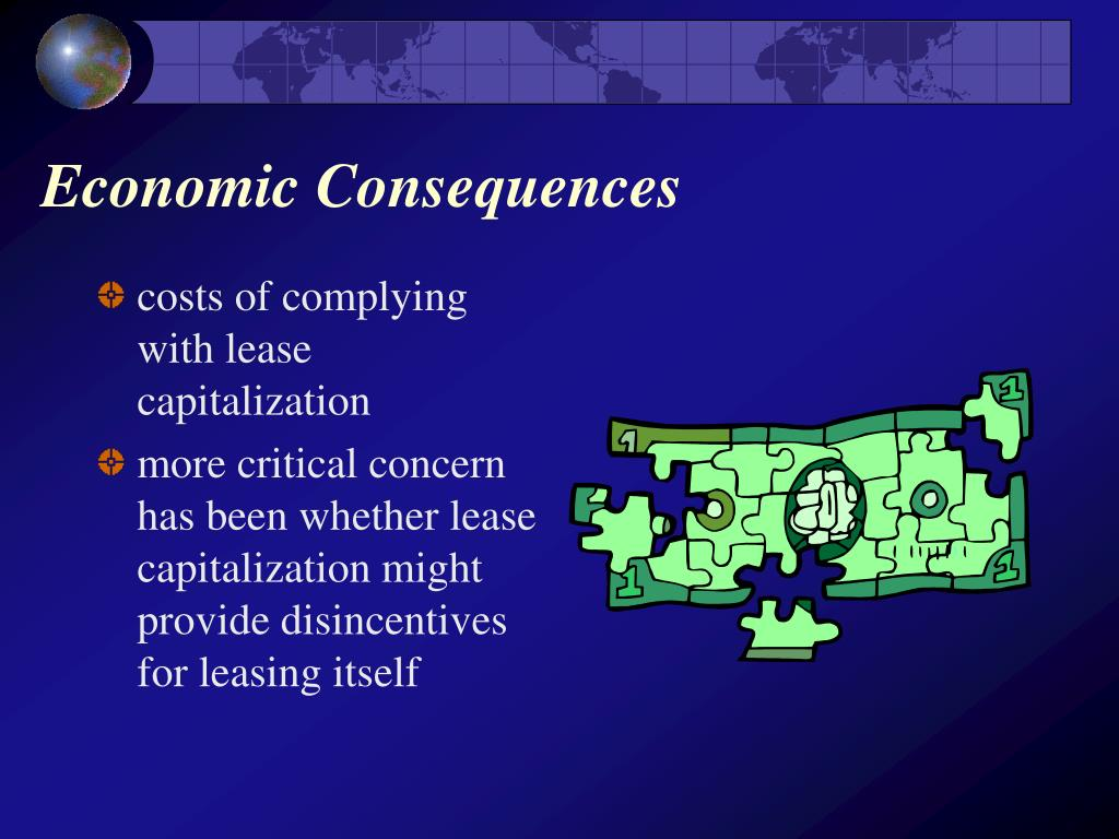 Economic Consequences
