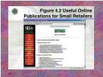 figure 4 2 useful online publications for small retailers