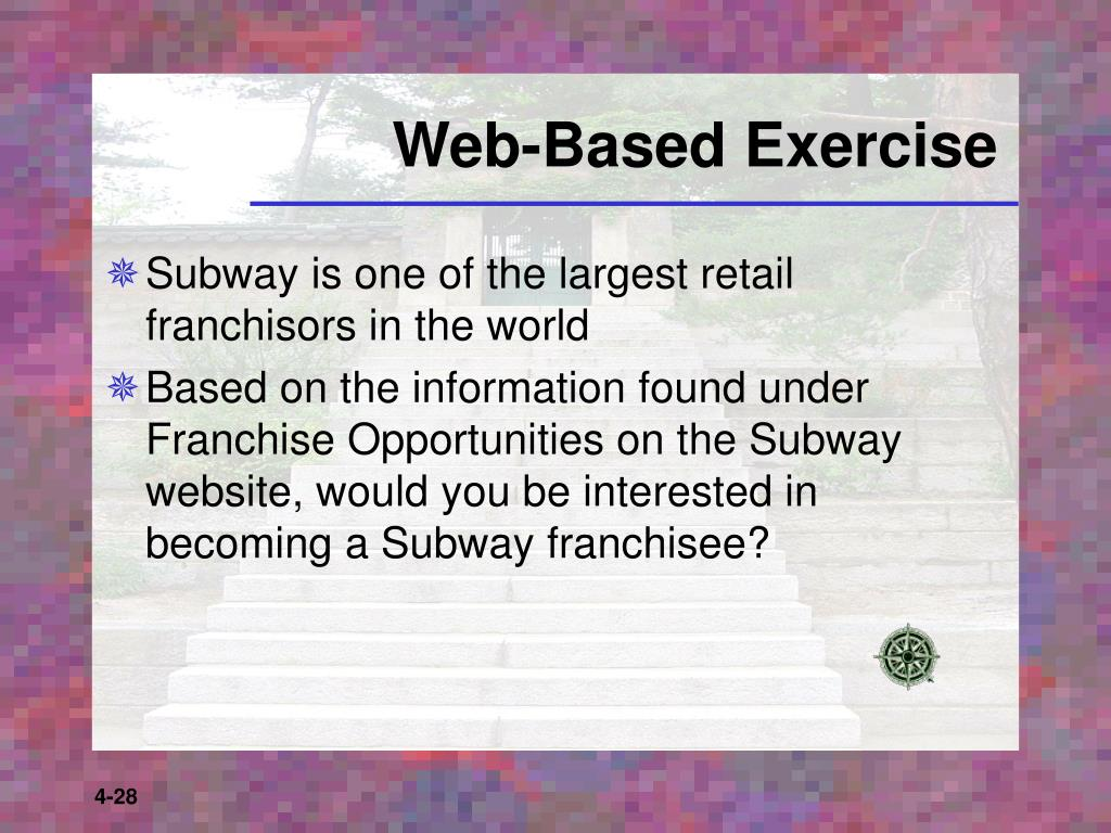 Web-Based Exercise
