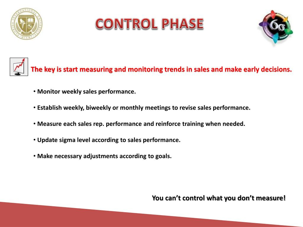CONTROL PHASE