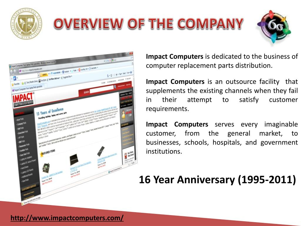 OVERVIEW OF THE COMPANY