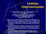 limites internacionais7