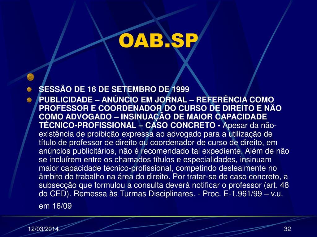 OAB.SP