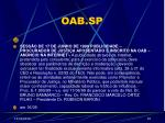 oab sp33