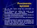provimento 94 200043