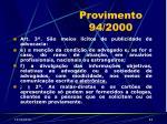 provimento 94 200044
