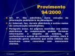 provimento 94 200048