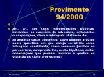 provimento 94 200054