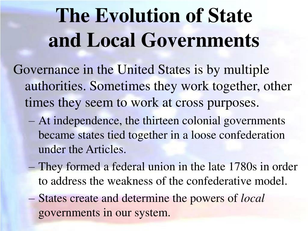 The Evolution of State