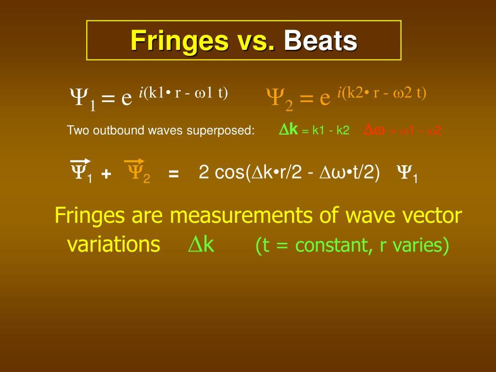 Fringes vs.