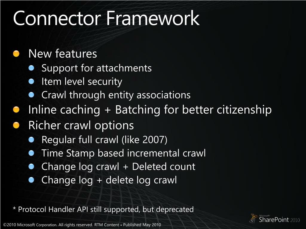 Connector Framework